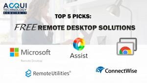 5 Free Remote Desktop Software